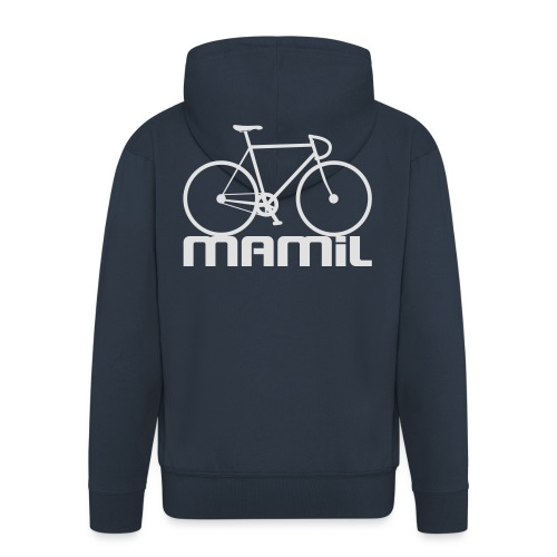 MAMiL Water bottle - Men's Premium Hooded Jacket