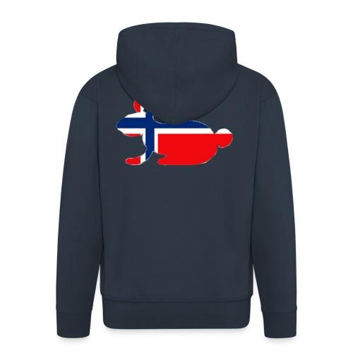 norwegian bunny - Men's Premium Hooded Jacket