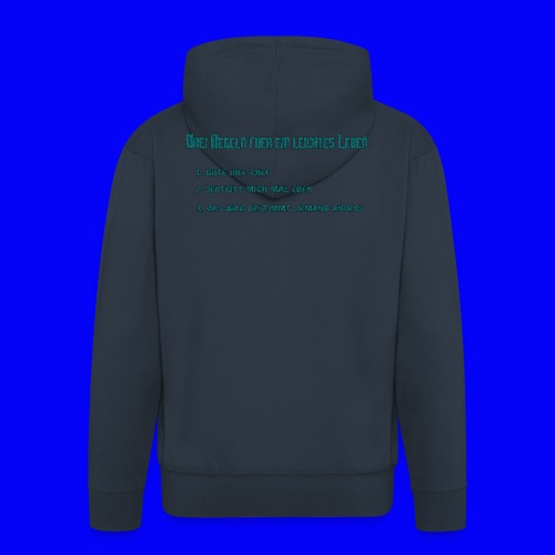 LebensRegeln - Men's Premium Hooded Jacket