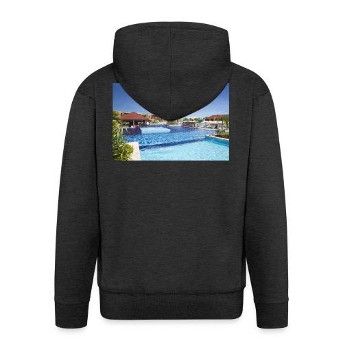 splendide piscine - Veste à capuche Premium Homme