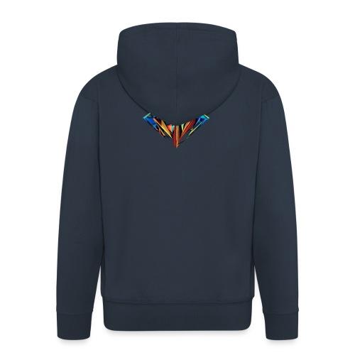 DiamondCraft Shine Like A Diamond. - Mannenjack Premium met capuchon