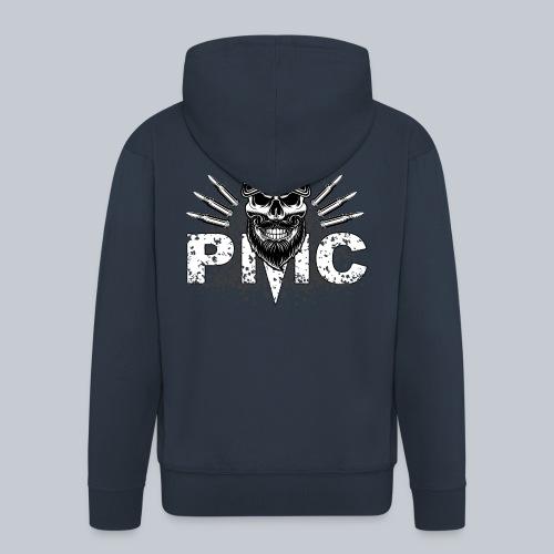 PMC Skull white - Männer Premium Kapuzenjacke