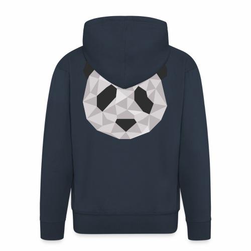 panda géométrique - Veste à capuche Premium Homme