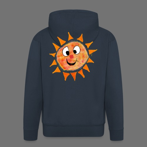 Sonne - Männer Premium Kapuzenjacke