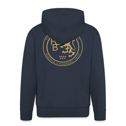 FC Británico Gold Badge - Men's Premium Hooded Jacket