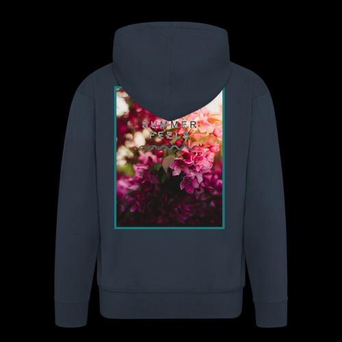 Summer Feels - Men's Premium Hooded Jacket