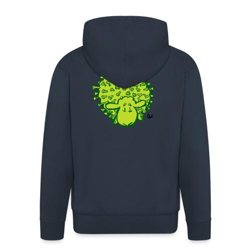 Virus oveja - Chaqueta con capucha premium hombre