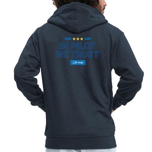 In pilot we trust - Men's Premium Hooded Jacket