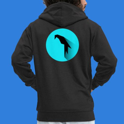 Parrot Logo - Men's Premium Hooded Jacket