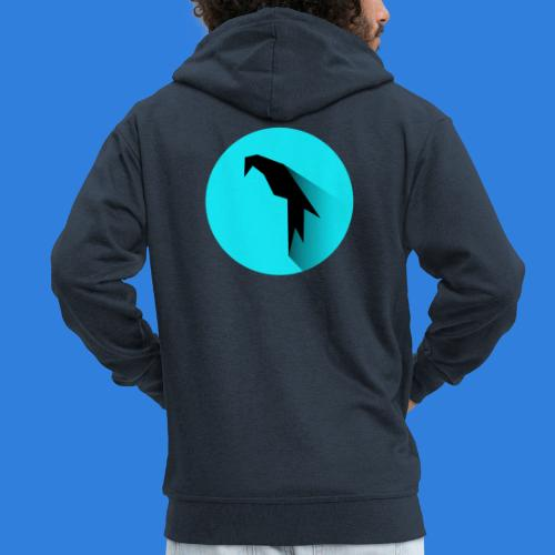 Parrot Logo - Men's Premium Hooded Jacket