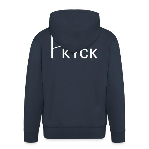 KYCK - element navy - Männer Premium Kapuzenjacke