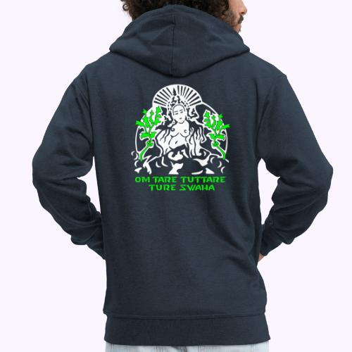 White tara - Men's Premium Hooded Jacket