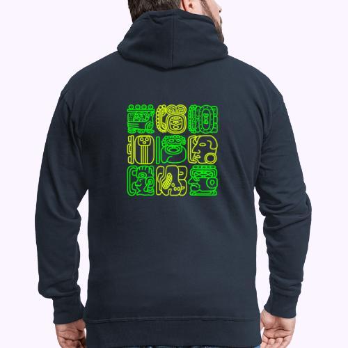Mayan Bolontiku - Men's Premium Hooded Jacket