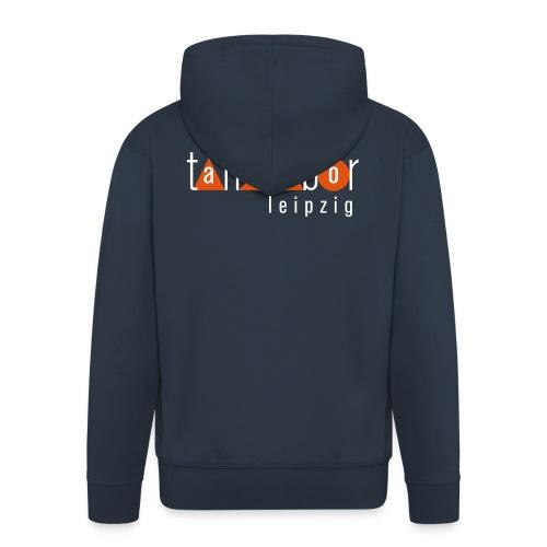 Tanzlabor Leipzig Logo - Männer Premium Kapuzenjacke