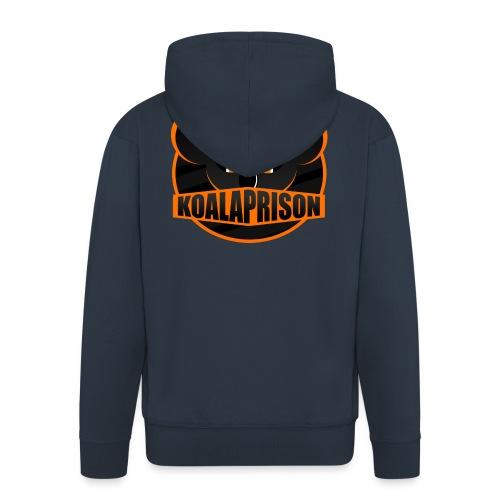 Koala Prison Logo - Men's Premium Hooded Jacket