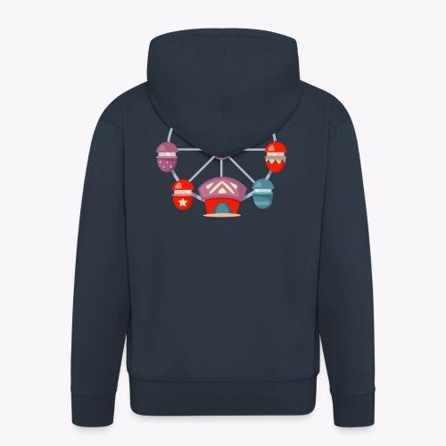Ferris Wheel - Men's Premium Hooded Jacket