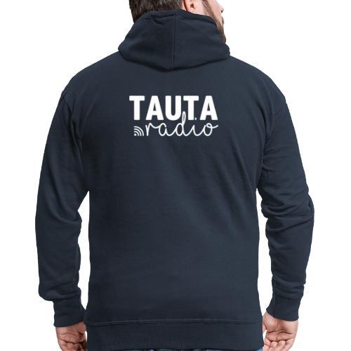 Radio Tauta Logo - Men's Premium Hooded Jacket