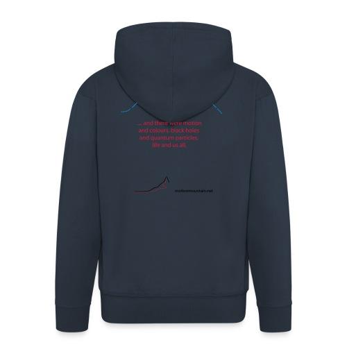 God's favorite T-shirt - Men's Premium Hooded Jacket