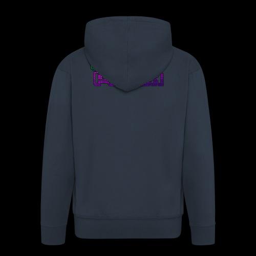 Pixel Poison Logo - Men's Premium Hooded Jacket