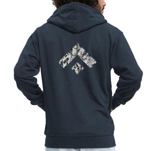 Logo Design - Chaqueta con capucha premium hombre