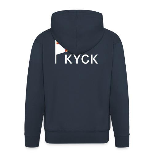 KYCK - classic navy - Männer Premium Kapuzenjacke