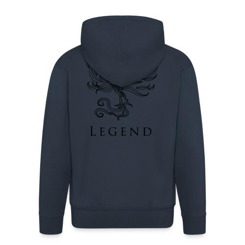 MC Legend Logo - Männer Premium Kapuzenjacke