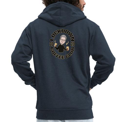 Lockdown Coffee Club 2020 - Men's Premium Hooded Jacket