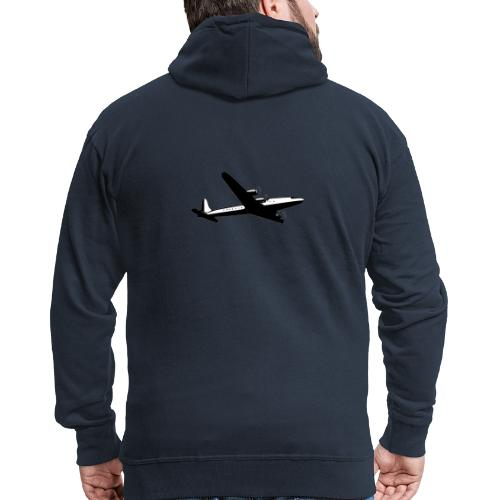 Airplane clothing for travel junkies - Mannenjack Premium met capuchon