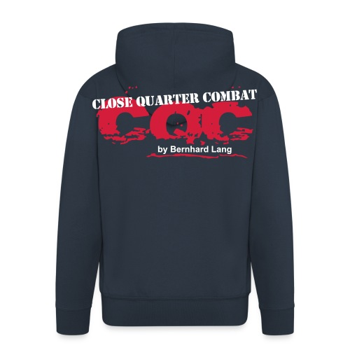 logo cqc transparent zugeschnitten - Männer Premium Kapuzenjacke