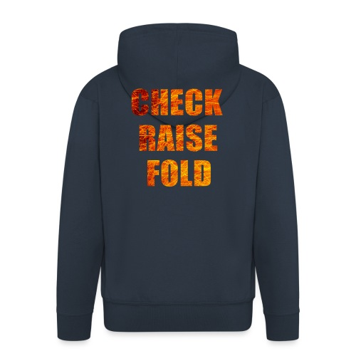 Check Raise Mug - Men's Premium Hooded Jacket