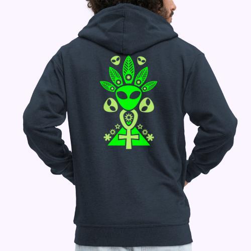 Ankhmania Glow - Chaqueta con capucha premium hombre