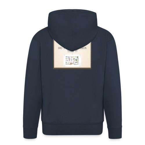 P1 - Veste à capuche Premium Homme