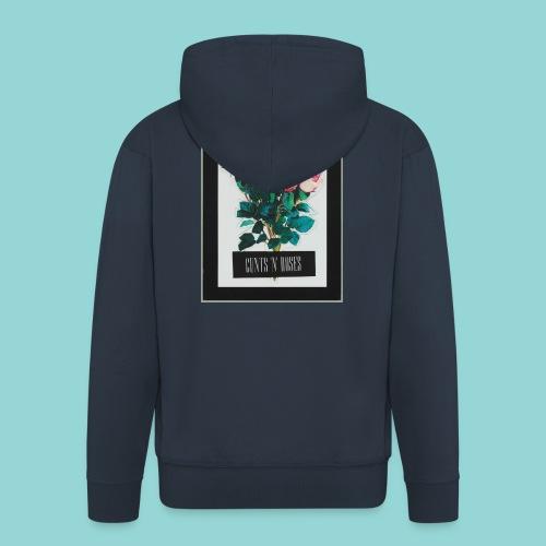 cunts_n_roses_MAIN - Männer Premium Kapuzenjacke