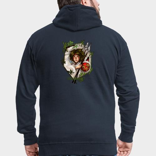 Geneworld - Mononoke - Veste à capuche Premium Homme