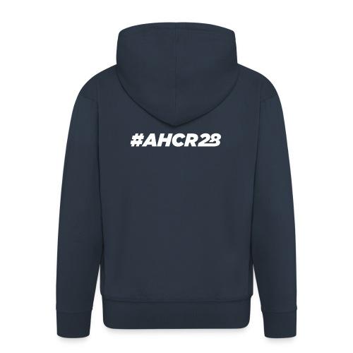 ahcr28 White - Men's Premium Hooded Jacket