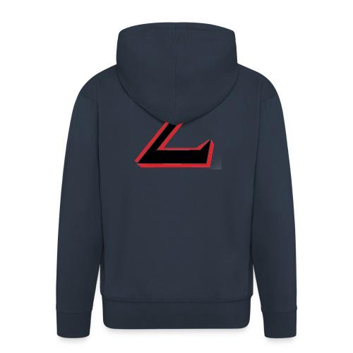 TheZbyszek - Rozpinana bluza męska z kapturem Premium