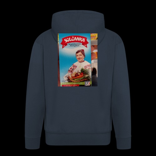Babushka's fines - Men's Premium Hooded Jacket