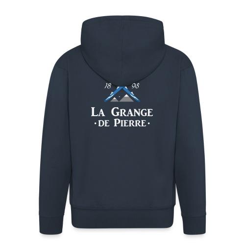 La Grange de Pierre Blue Cross Light - Veste à capuche Premium Homme