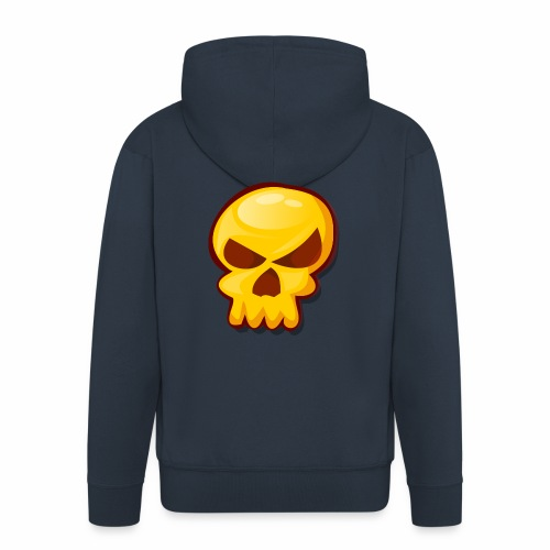 Golden Skull - Chaqueta con capucha premium hombre
