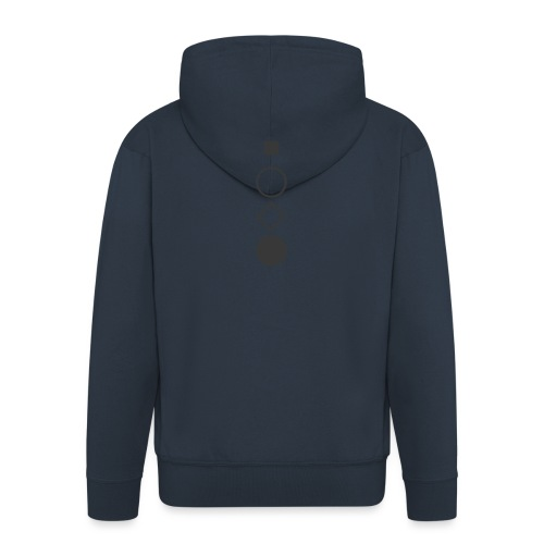 rest open touch stop - Men's Premium Hooded Jacket