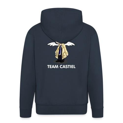 Team Castiel (dark) - Men's Premium Hooded Jacket