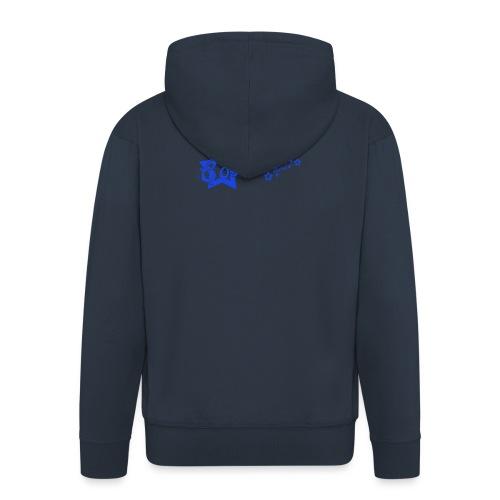 CosmicSound Blue - Männer Premium Kapuzenjacke