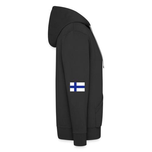 99% Suomi-painos - Miesten premium vetoketjullinen huppari