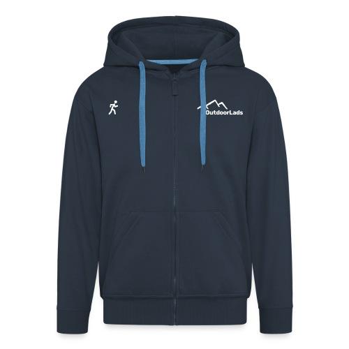 WalkRun GetOutMore - Men's Premium Hooded Jacket
