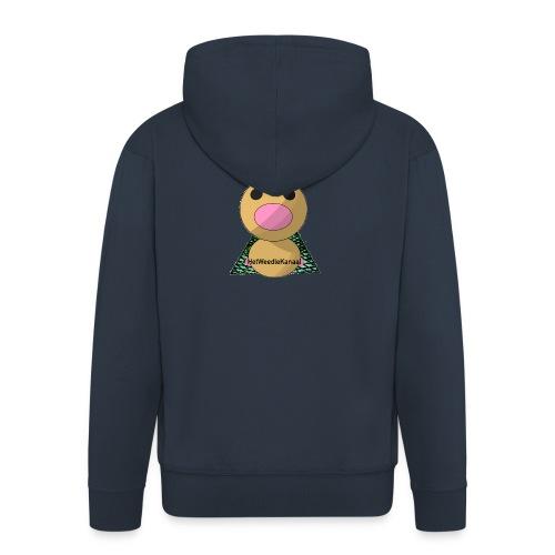 HetWeedleKanaal shirt MAAT S/M/L/XL/XXL - Mannenjack Premium met capuchon