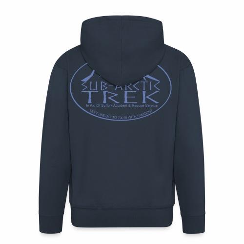 sub arctic trek in aid of sars - Men's Premium Hooded Jacket