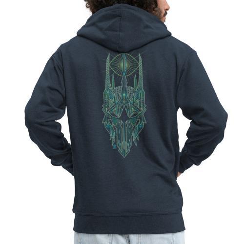 Sauron / Couleur - Veste à capuche Premium Homme