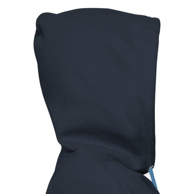 Vorschau: Vorsicht Herrchen - Männer Premium Kapuzenjacke