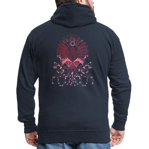 Octopus / Couleur - Veste à capuche Premium Homme