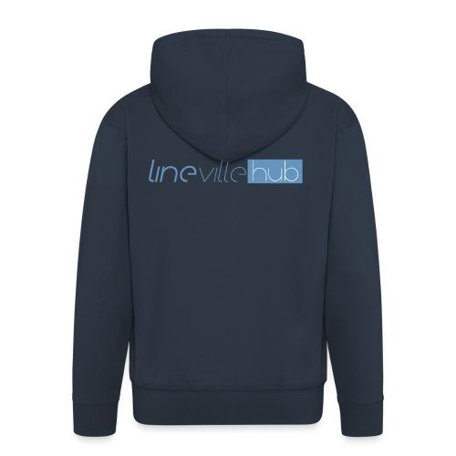 LINEVILLEHUB - Felpa con zip Premium da uomo
